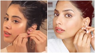 I Followed JANHVI KAPOOR Makeup Tutorial...Interesting.