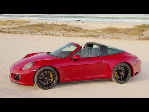 2017 Porsche 911 Targa 4 GTS Carmine Red (450 hp)