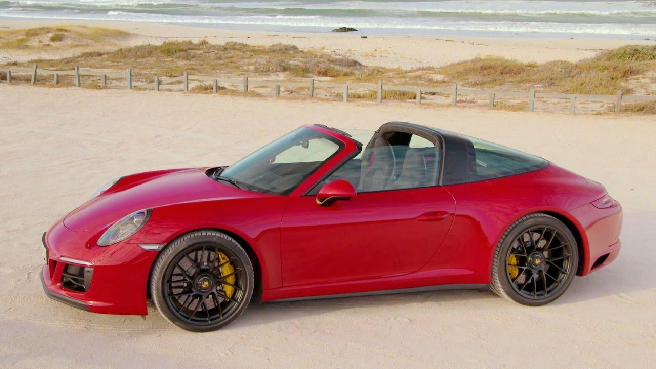 2017 Porsche 911 Targa 4 Gts Carmine Red 450 Hp Youtube