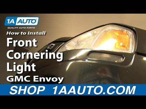 how to replace cornering light 02 06 gmc envoy xl 1a auto Interior Light Wiring Diagram