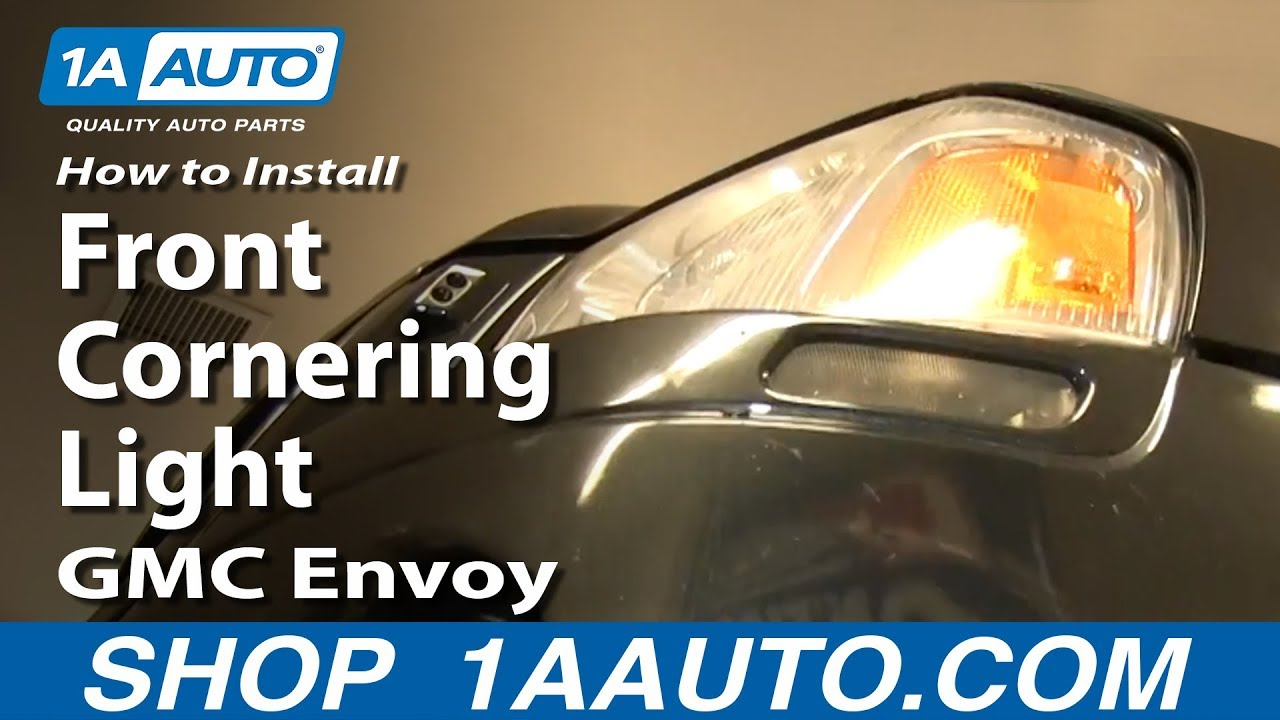 maxresdefault how to install replace front cornering light 2002 09 gmc envoy envoy