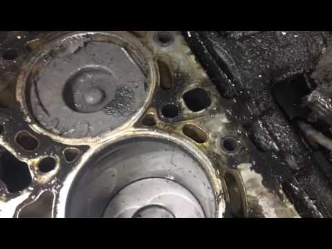 Капитальный ремонт двигателя Ford Transit часть1