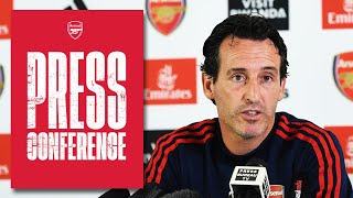 Granit Xhaka, Mesut Ozil and the Carabao Cup | Unai Emery's pre-Liverpool press conference