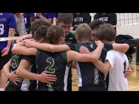 St. Vital Invitational - Vincent Massey vs Linden Christian Volleyball