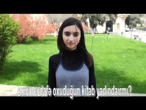 World Book Day 2011 Azerbaijan: Questions