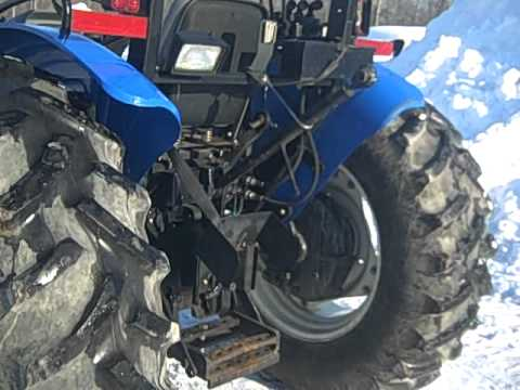 2007 new holland tt75 tractor stock 3052 4 cylinder 75hp diesel engine 59 pto hp youtube. Black Bedroom Furniture Sets. Home Design Ideas