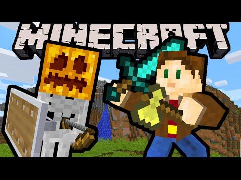 Minecraft 1.9 Snapshot: Shield Reflect, Sword & Axe Buff, Gold Apple Nerf, Void Biome, Combat Update