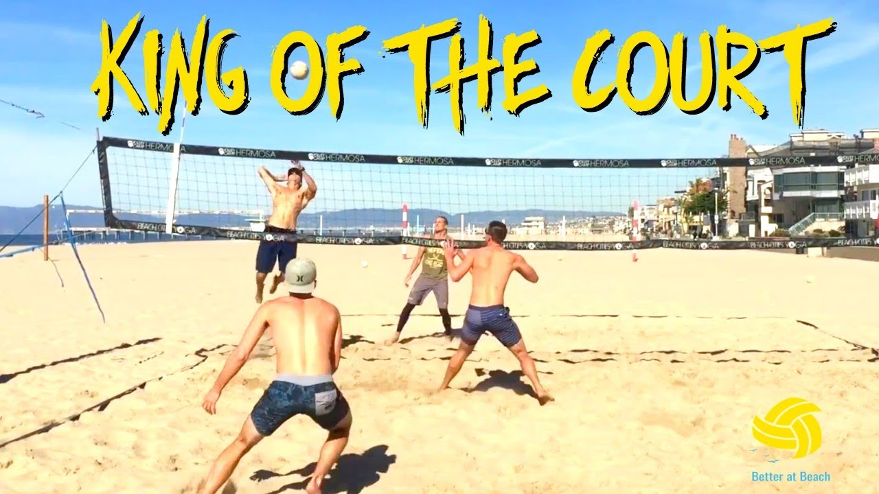 Avp King Of The Court 2 Ball Variation Beach Volleyball Drills With Pros Youtube