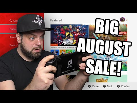 HUGE  Nintendo Switch eShop Sale For August Happening NOW!
