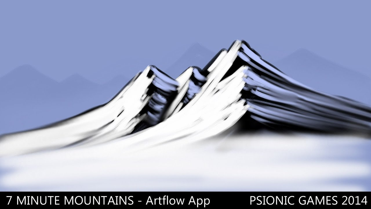7 Minute Mountains Painting - Artflow - Android