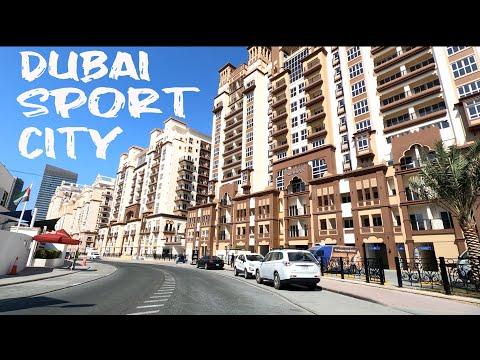 Driving around Dubai Sport City   Dubai UAE 🇦🇪