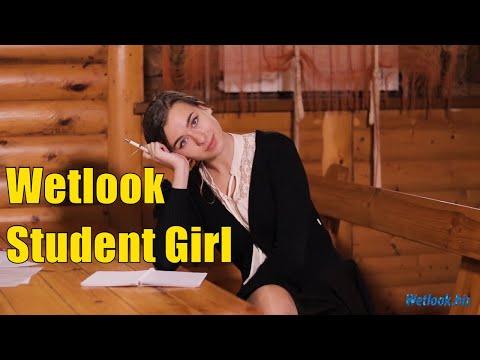 Wetlook Student Girl | Wetlook GIRL IN OFFICE CLOTHES