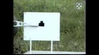 Стрельба из боевого оружия.Обучение прицеливанию с помощью (К Я) АК(Наш сайт: http://www.woin.ru/ Видео из фильма