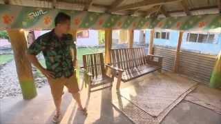 Ronnie in Samoa  Village Life