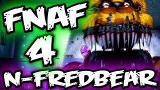 FNAF 4 Nightmare Fredbear SECRET || FNAF 4 Gmod Five Nights at Freddy's 4 Garry's Mod
