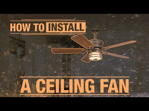 How To Install Fan Blades Doovi