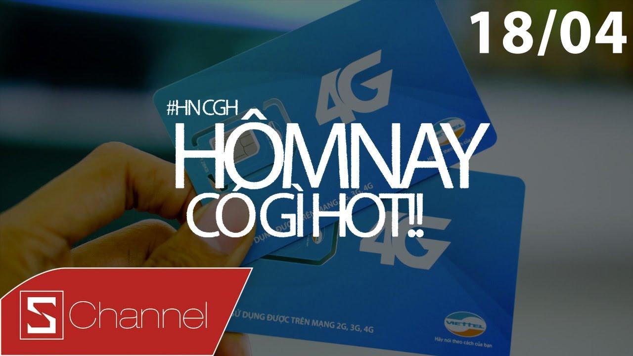Schannel – #HNCGH 18/4: Viettel chính thức triển khai 4G, Instagram tiếp tục đạo Pinterest – YouTube