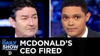 Consensual Relationship Scandal at McDonalds  The Daily Show