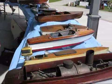 Rosseau Classic Cruise '09 Vintage Model Boats part 1 - YouTube