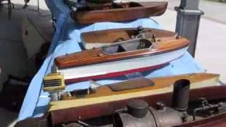 Rosseau Classic Cruise '09 Vintage Model Boats part 1