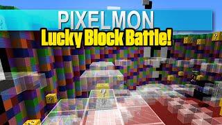 Pixelmon: Lucky Block Battle! - Staying Lucky