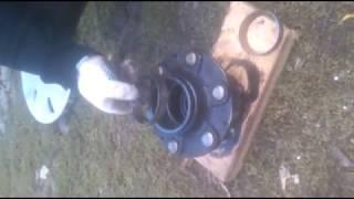 Замена ступичного подшипника на газели