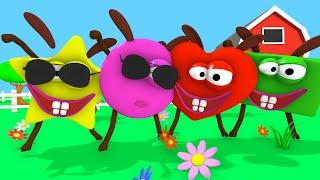 A Canção das Formas |  Música para crianças | 25 min Tinyschool Português thumbnail