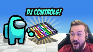 So I coded a DJ Instrument to WIN Among Us