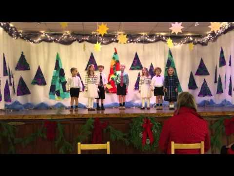 Christmas Program - Cedarcroft School - Frosty
