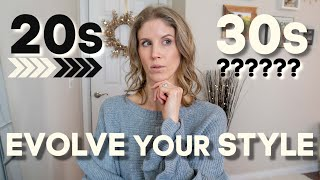 STYLE CHANGES FROM YOUR 20s TO YOUR 30s | HOW TO EVOLVE YOUR LOOK | Kelly Marie Roach