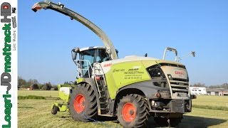 NEW Claas Jaguar Séries 900 | Ensilage d'Herbe 2017 !