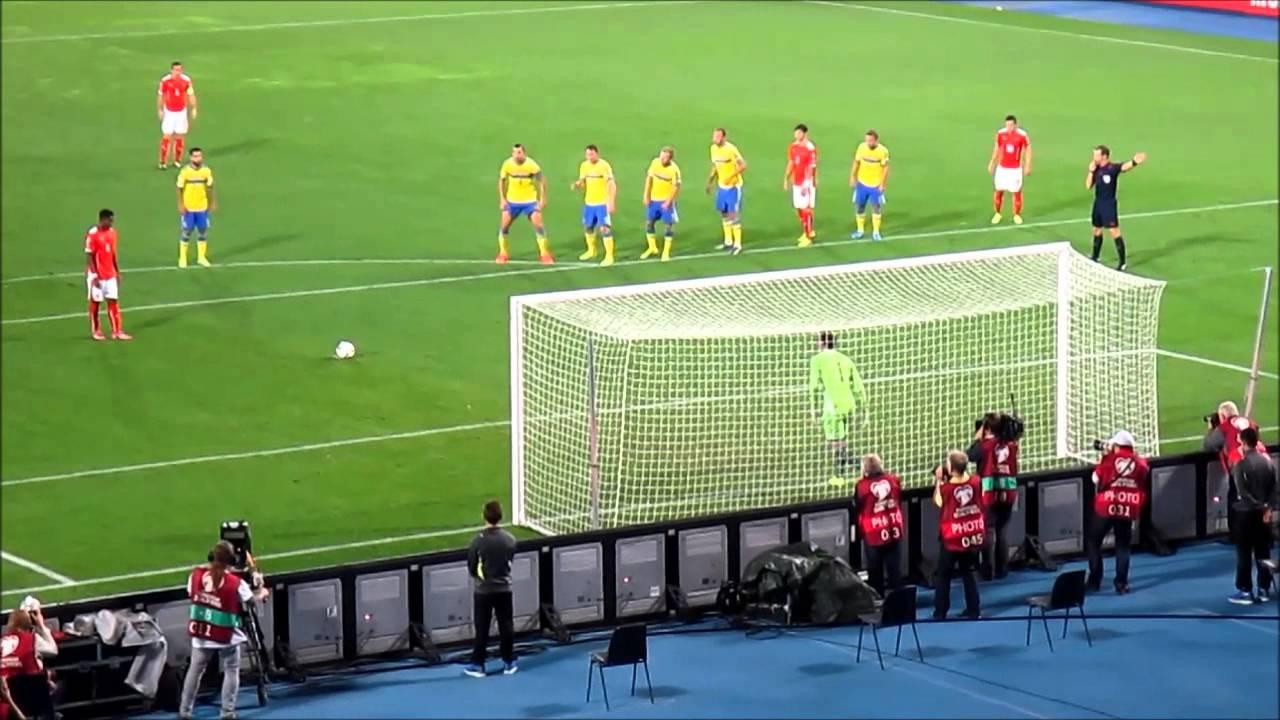 Fussball Em Qualifikation 2016 Osterreich Schweden 1 0 David Alaba 7 Elfmeter
