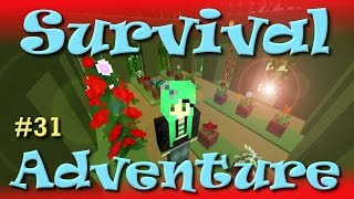 Minecraft | Survival Adventure 31 | Paper Cut Out | SallyGreenGamer
