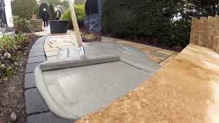 Gartengestaltung mit dem wasserundurchlässigen tubag Pflasterfugenmörtel PFN
