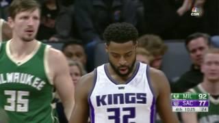 Milwaukee Bucks vs Sacramento Kings - Full Game Highlights   March 22, 2017   NBA Season 2016-2017