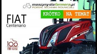 Traktory FIAT wracają na pola! 100-lecie marki świętuje New Holland