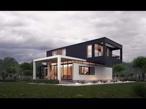 Idee Amenagement Exterieur Maison Neuve - YouTube