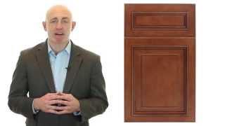 Niron Depot Presents The Fabuwood Wellington Cinnamon Kitchen Cabinet
