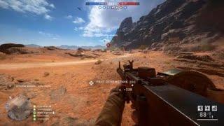 С пулеметом в пустыне