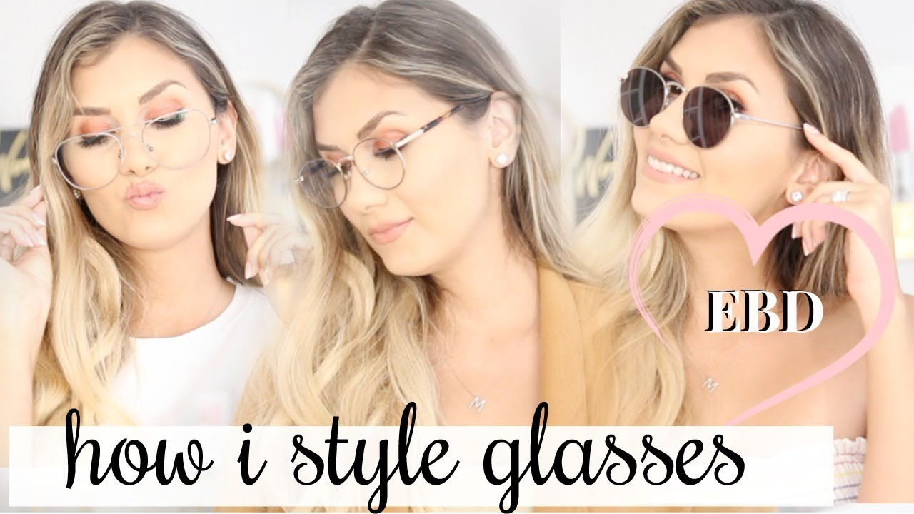 508aeaa1853 GLASSES LOOKBOOK FALL 2018 WITH EyeBuyDirect - YouTube