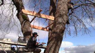 How To Build A Treehouse | 8 Wranglerstar