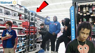 Blasting YBN Nahmir - Bounce Out With That in Walmart !