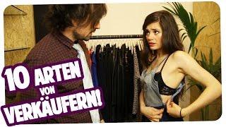 10 Arten von nervigen Verkäufern | Joyce