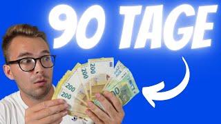 11.094,36€ in 90 Tagen - Von 500€ zum 500.000€ Traumhaus | Folge 15