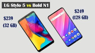 LG Stylo 5 vs Bold N1 Specs Comparison - Which is Better?