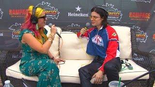 Baixar Megan Holiday talks with BORNS at the KROQ Coachella House