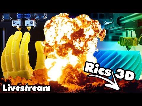 Rics_3D // Live \\Unboxing .......