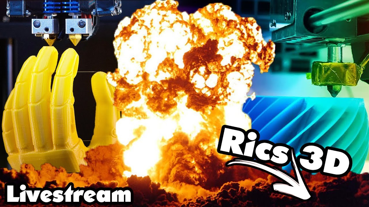 Rics 3d Live Unboxing Youtube