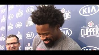 "DeAndre Jordan ""I WANTED TO BE THE BLACK DIRK!!!"" HoopJab NBA"