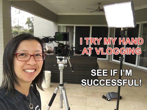 Amanda's venture into vlogging - uni semester starting soon